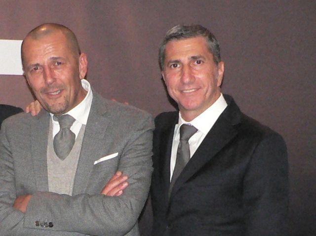 Massimo Broccoli e Pier Ezhaya