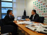 Riccardo Toto intervistato dal direttore di TTG Remo Vangelista
