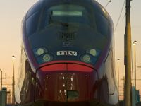 Un treno Italo di Ntv