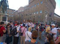 Turisti Italia Firenze