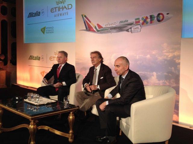 James Hogan, Luca Cordero di Montezemolo e Silvano Cassano