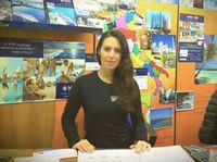 Valentina Zaini, titolare dell'agenzia Bluvacanze di Piacenza
