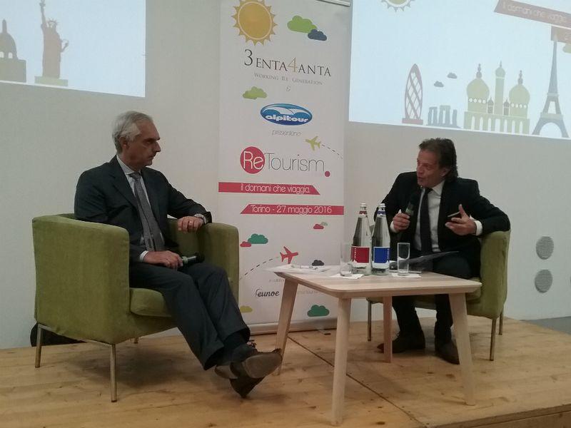 Gabriele Burgio intervistato dal direttore di TTG Remo Vangelista