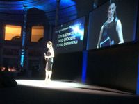 Roberta Lanfranchi all'Italia Travel Awards a Roma