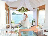 Overwater Tranquillity Wedding Chapel di Sandals Resorts