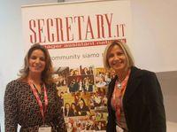 Secretary Job: a sinistra Jessica Alessi, a destra Vania Alessi