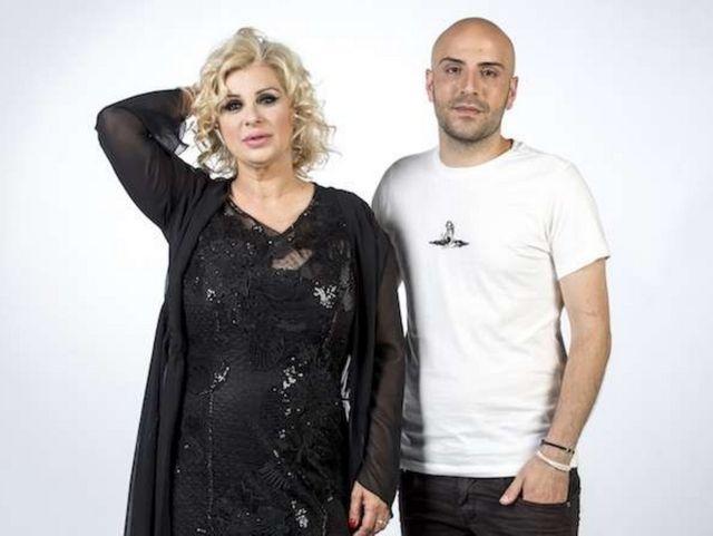 Simone Di Matteo con Tina Cipollari, sua partner in Pechino Express