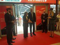 Trenitalia, l'a.d. Barbara Morgante e il presidente Tiziano Onesti